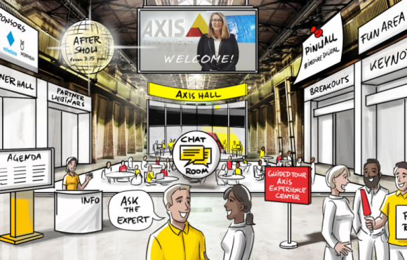 Axis Inspire goes digital
